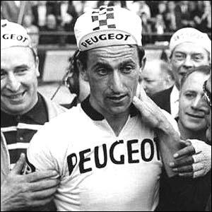 Brentwood Weekly News: The son of a County Durham pitman, Tom Simpson was cycling's celebrity in the 1960s