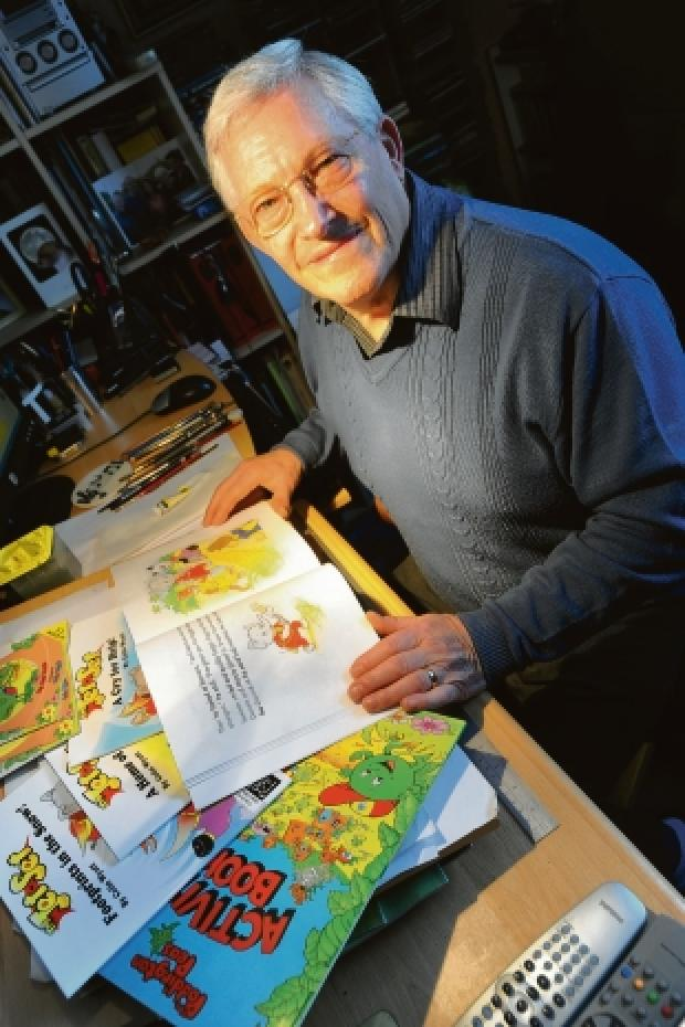 Going it alone – Colin Wyatt has released his own children's books