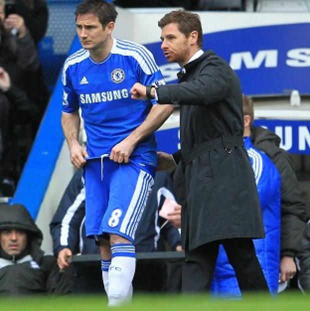 Frank Lampard and Andre Villas-Boas