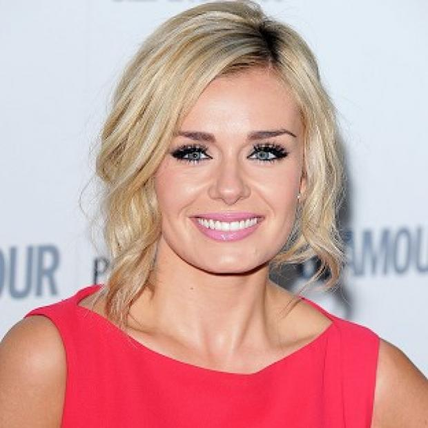 Katherine Jenkins revealed she is having a blast on Dancing With The Stars