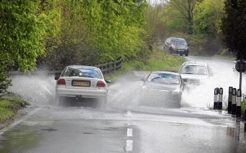 Take care on roads during stormy weekend weather, say Essex County Council