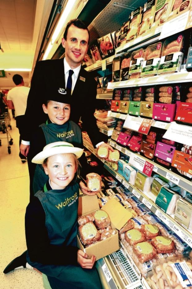 The youngsters at Waitrose