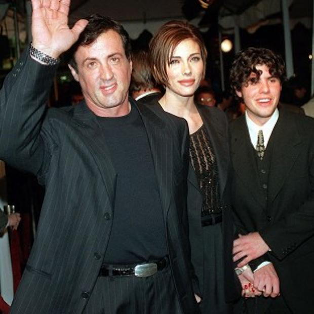 Sylvester Stallone has spoken out about the death of his son Sage, pictured with the actor and his wife Jennifer Flavin