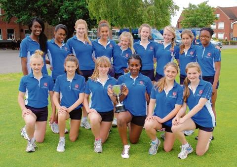 The Brentwood School Girls' Athletics Team