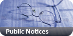Brentwood Weekly News: public notices classified