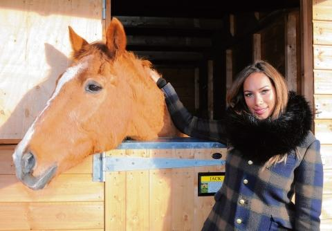 Leona Lewis at the sanctuary