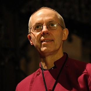 New Archbishop of Canterbury the Rt Rev Justin Welby is to say that marriage is 'between a man and a woman, and always has been'