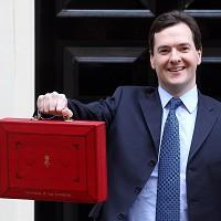 George Osborne has taken to Twitter to tell the electorate his Budget will 'help those who want to work hard and get on'
