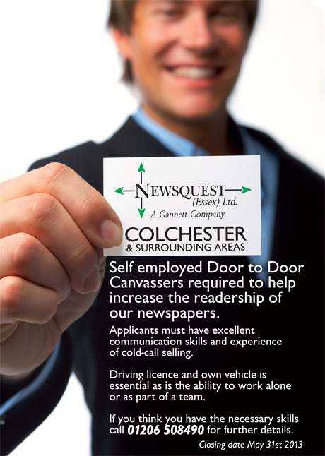Self employed Door to Door Canvassers