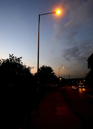 Streetlights go off in Brentwood - but protestors say they will fight on