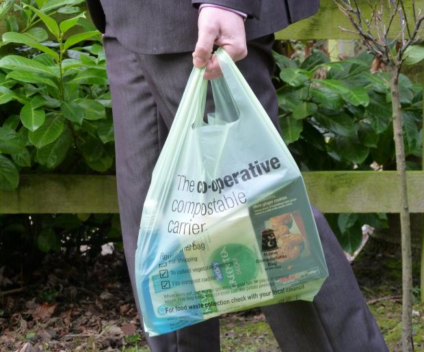 Co-op shoppers in Brentwood to get compostable bags