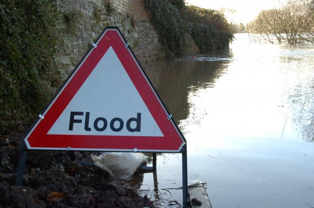 Flood warning for Ingatestone