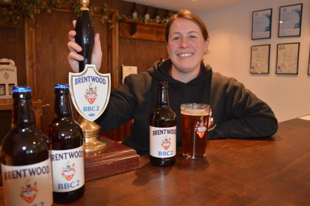 Sophie de Ronde, head brewer at Brentwood Brewing Company