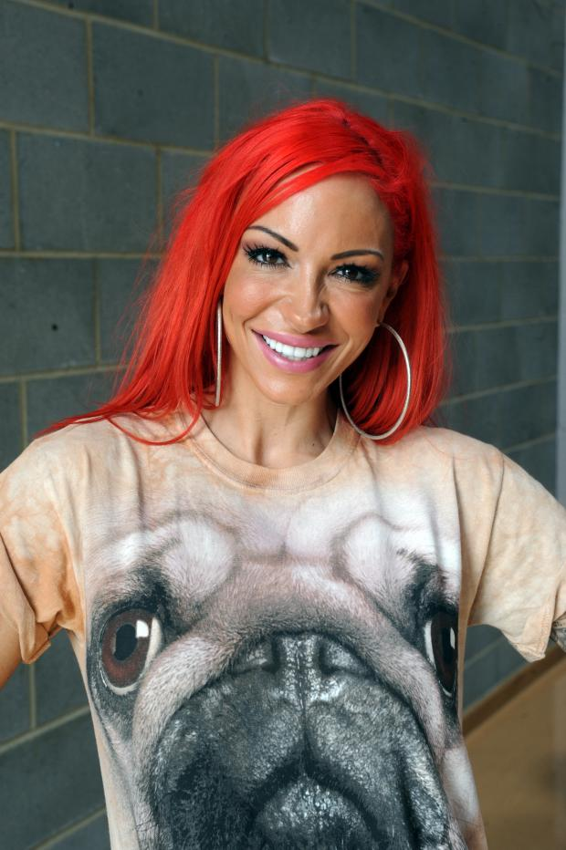 Brentwood Weekly News: Jodie Marsh. Pic credit: Steve O'Connell