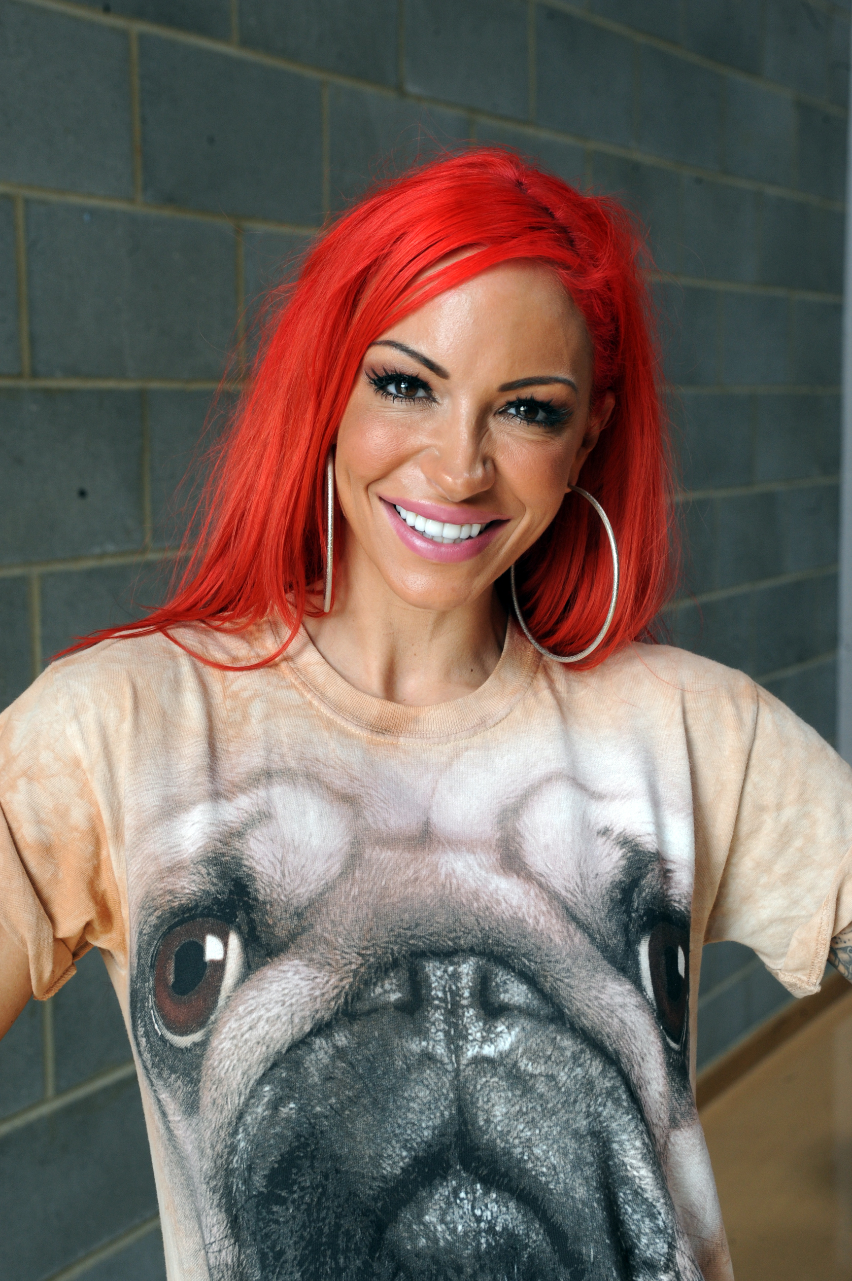 Jodie Marsh. Pic credit: Steve O'Connell
