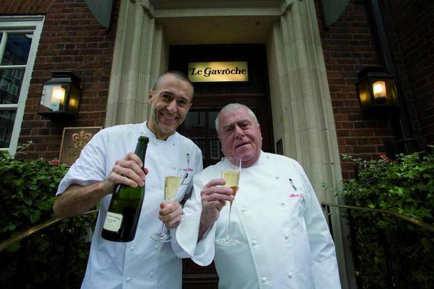 Brentwood Weekly News: Albert Roux (right) with his son and fellow chef Michel Roux Jnr