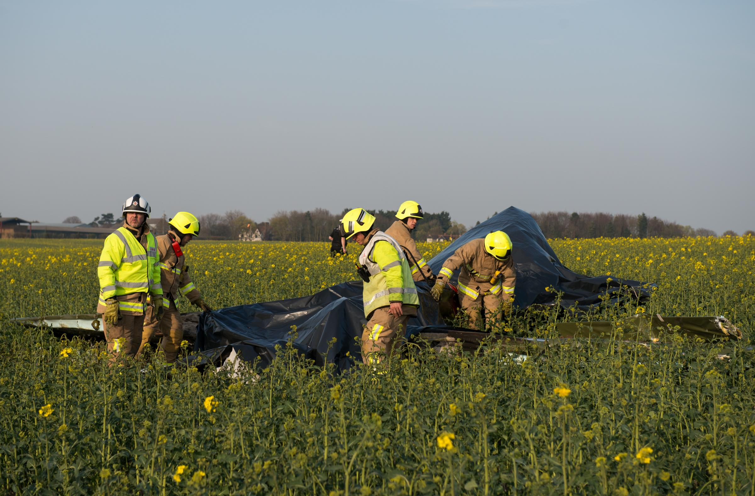 Other man killed in plane crash confirmed as experienced BA pilot