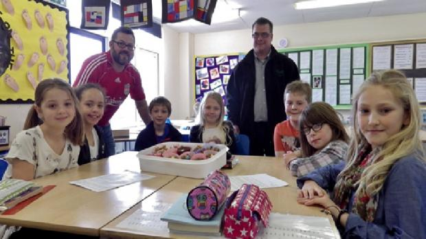 Shop teams up with Ingatestone pupils for Easter business lesson
