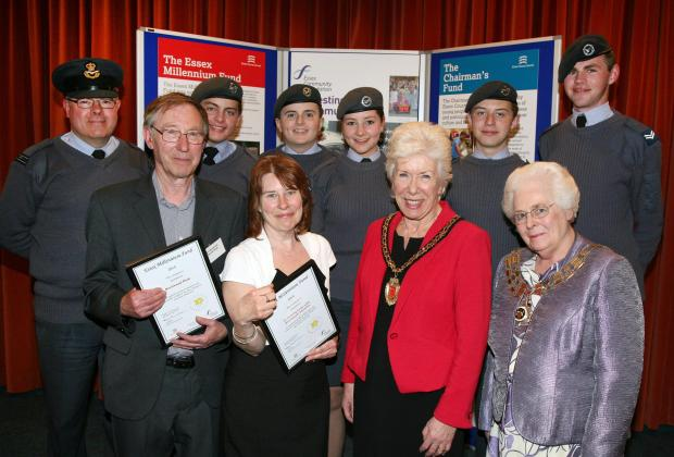 £1,000 given to air cadets and disabled club in Brentwood