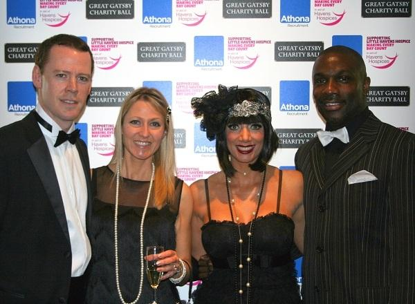 L-R: Athona Recruitment's Managing Director Stewart London and Director Tina London with Derek and Maria Redmond