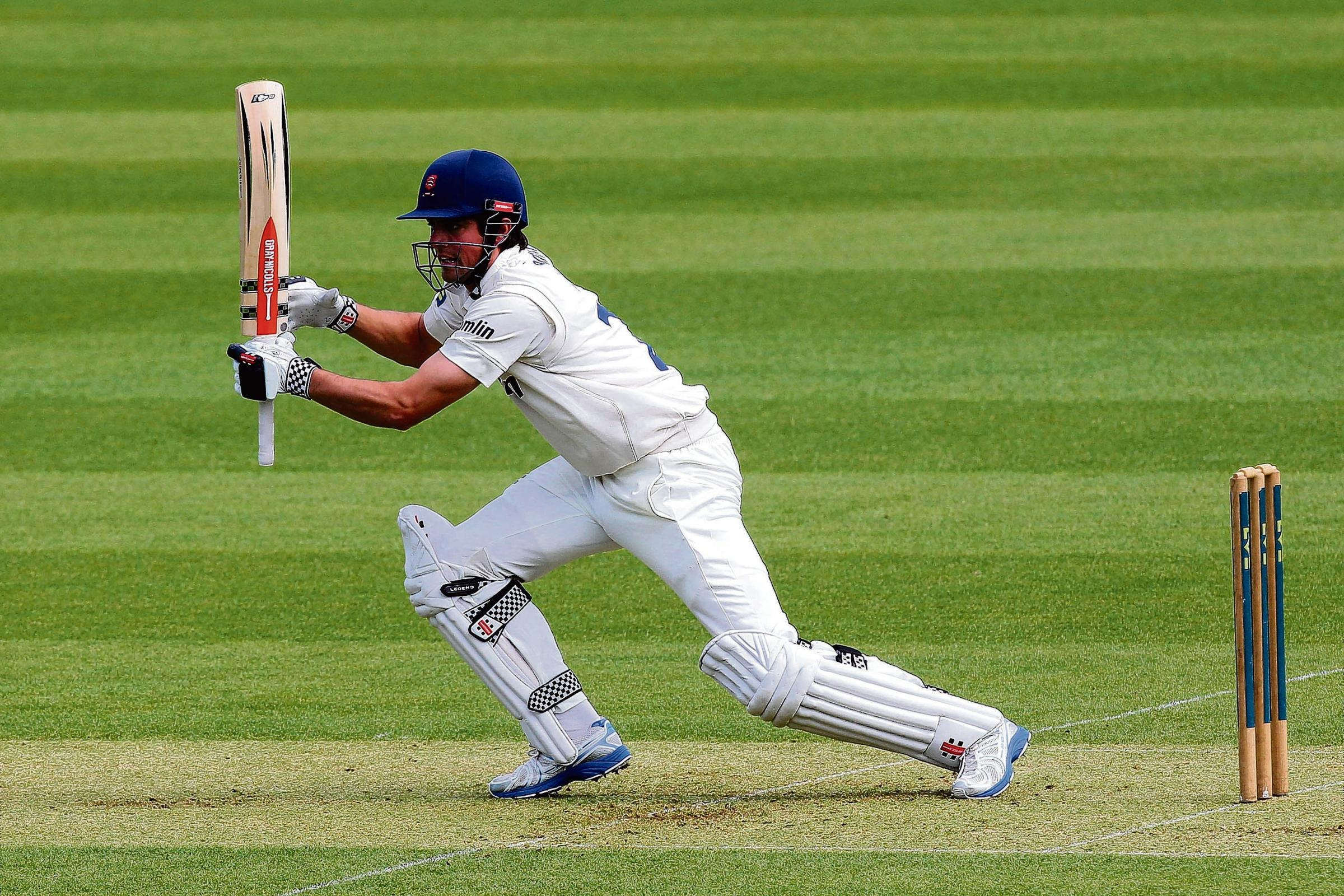 Alastair Cook   PIC GAVIN ELLIS/TGS PHOTOS