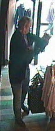 The CCTV images are not very clear but officers hope a member of the public may recognise the man from his clothing.