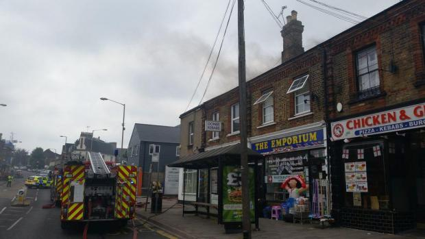 Brentwood Weekly News: Fire in Warley Hill