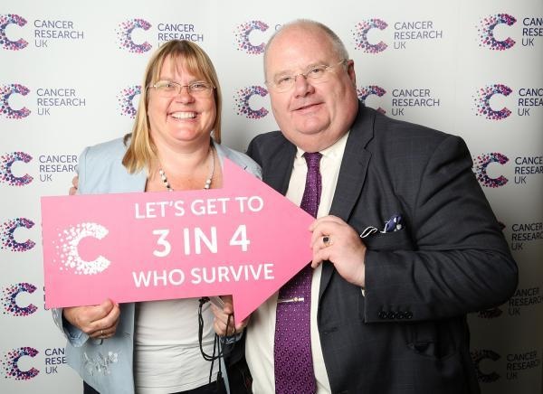 Caroline King and Eric Pickles