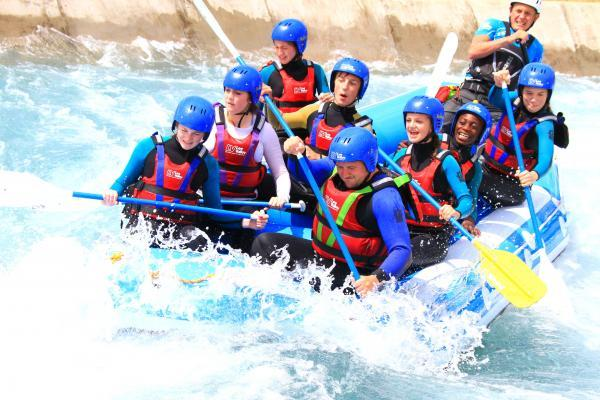 Students from the Anglo European School, Ingatestone, represented the Brentwood borough at the fourth annual Lee Valley White Water Centre Schools Festival