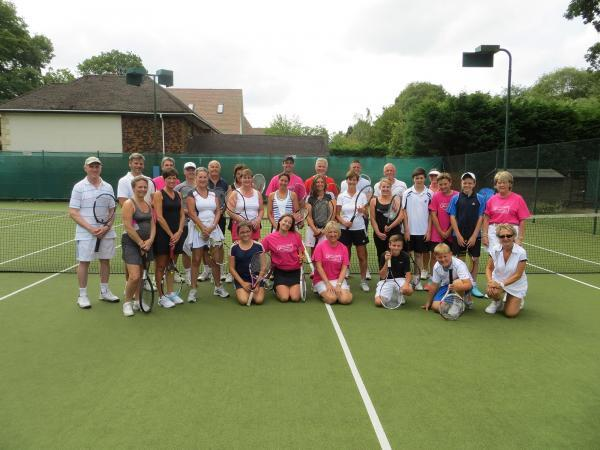 Ace: 28 players took part in event