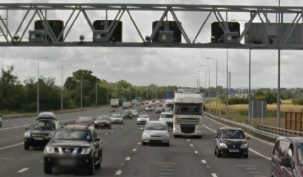 Speed cameras on the M25 which are being switched on [PICS: Google Maps]