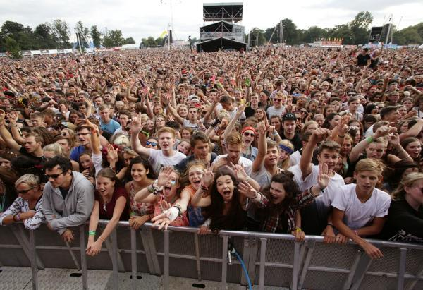 90,000 people attended the event at Hylands Park