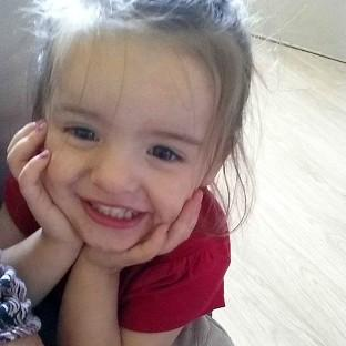 Trinity Liliana Coward died after a fire surround fell on her i
