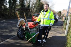 Out and about with Basildon Council's award winning waste team